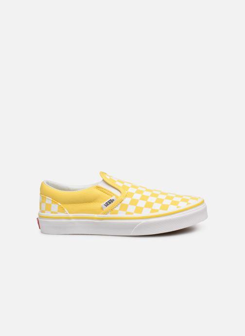 Sneaker Vans Classic Slip-On E gelb ansicht von hinten