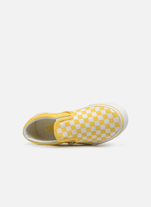Baskets Vans Classic Slip-On E Jaune vue gauche