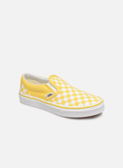 Baskets Vans Classic Slip-On E Jaune vue détail/paire