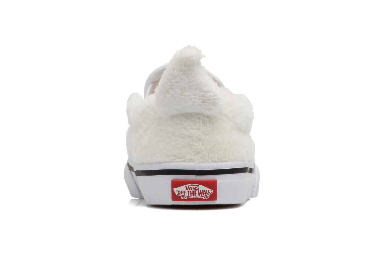 Sneaker Vans Classic Slip-On E weiß ansicht von rechts