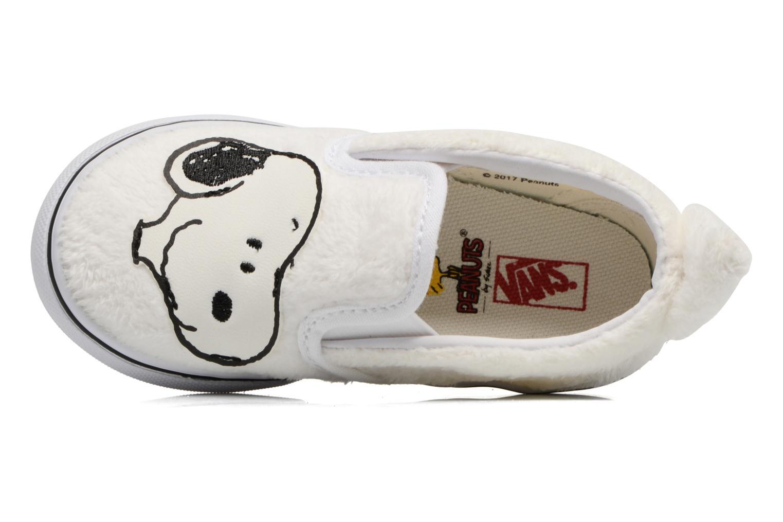 Sneaker Vans Classic Slip-On E weiß ansicht von links