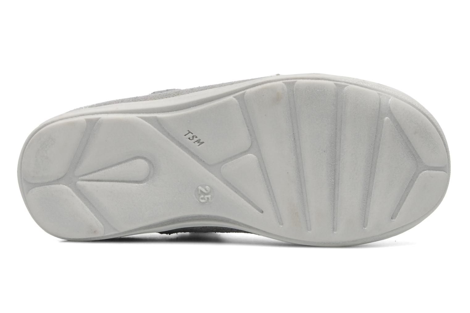 Ballet pumps GBB GWENDA Silver view from above