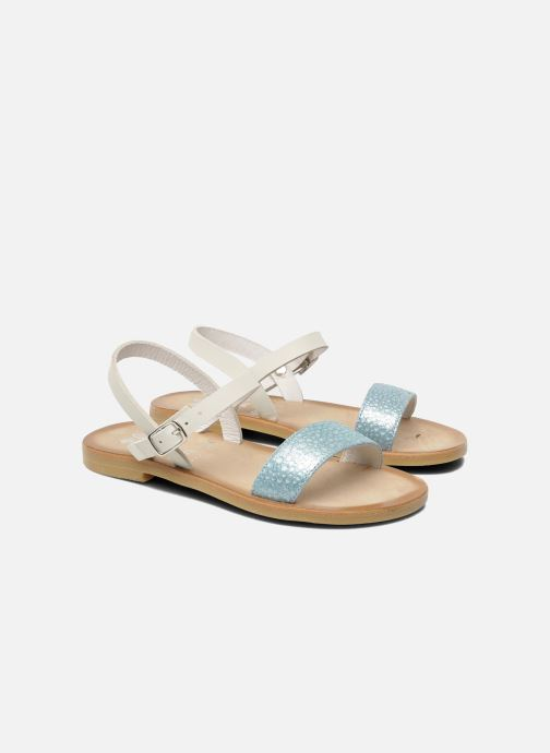 Sandales et nu-pieds start rite classics Flora Bleu vue 3/4