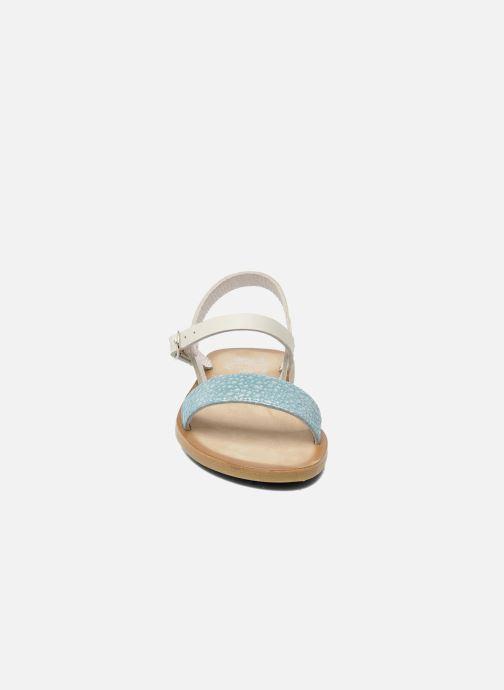 Sandali e scarpe aperte start rite classics Flora Azzurro modello indossato