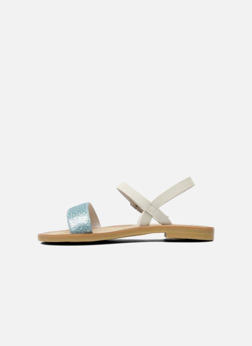 Sandales et nu-pieds start rite classics Flora Bleu vue face