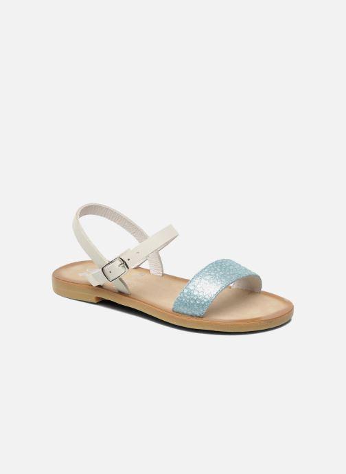 Sandales et nu-pieds start rite classics Flora Bleu vue détail/paire