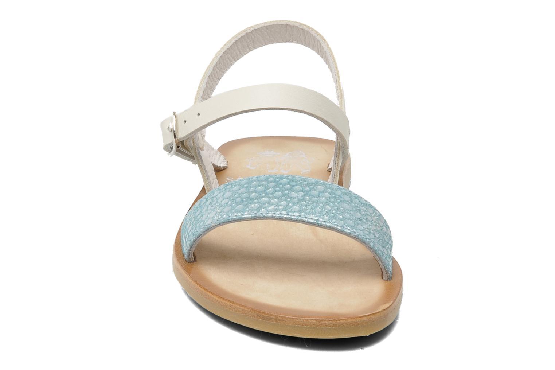 Sandales et nu-pieds start rite classics Flora Bleu vue portées chaussures