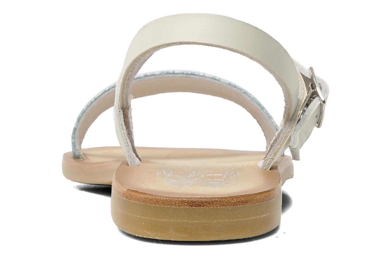 Sandales et nu-pieds start rite classics Flora Bleu vue droite