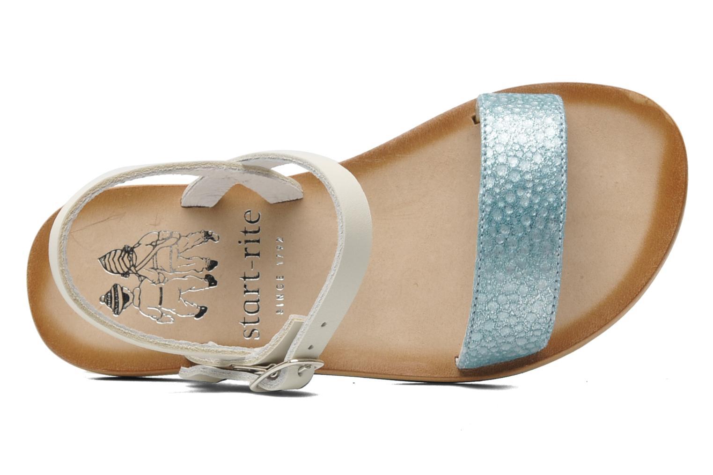 Sandales et nu-pieds start rite classics Flora Bleu vue gauche