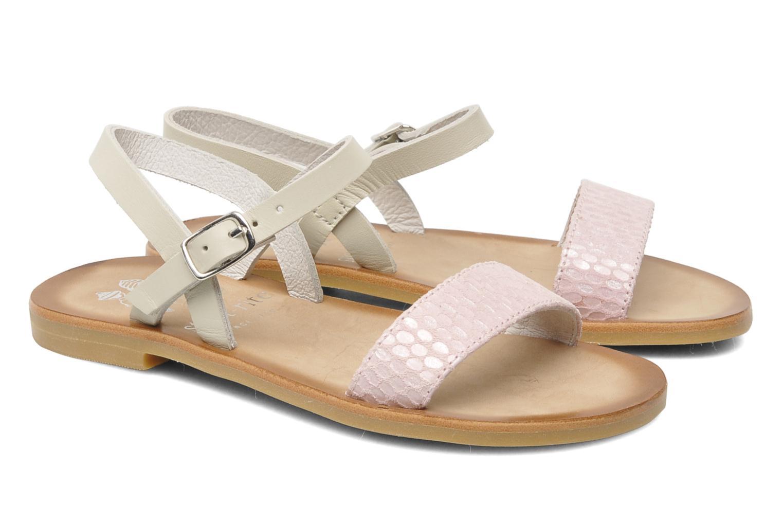 Sandales et nu-pieds start rite classics Flora Rose vue 3/4