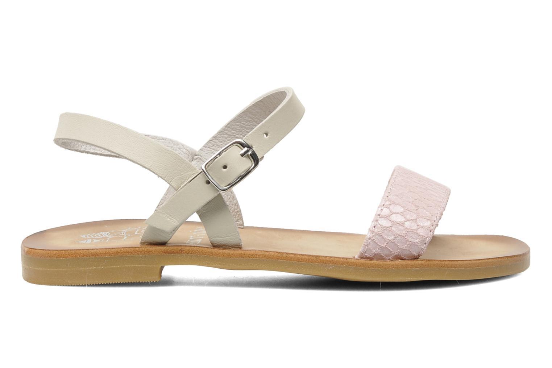 Sandales et nu-pieds start rite classics Flora Rose vue derrière