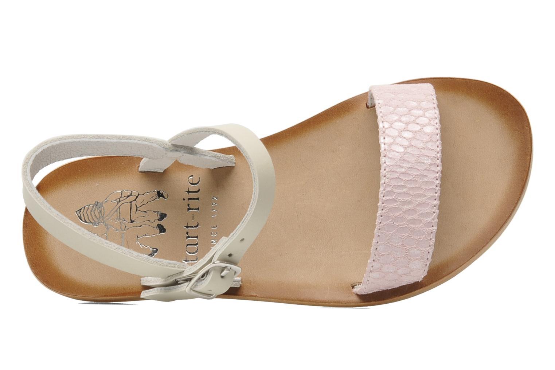 Sandales et nu-pieds start rite classics Flora Rose vue gauche