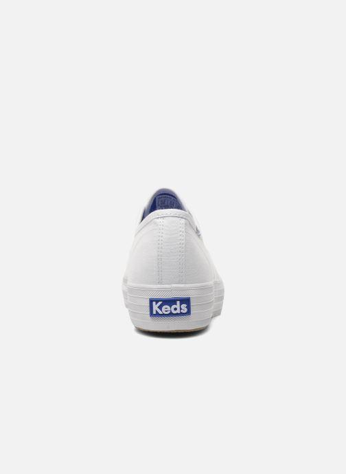 Sneaker Keds Triple weiß ansicht von rechts