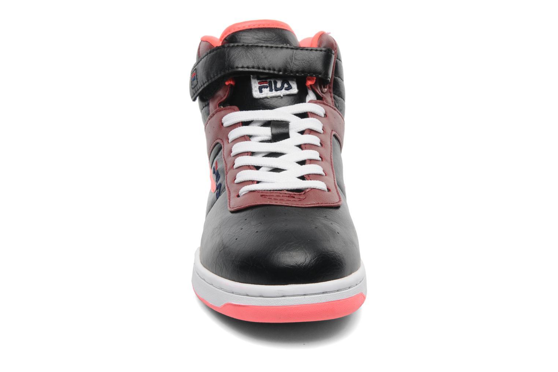 Baskets FILA F-13 Mid W Noir vue portées chaussures