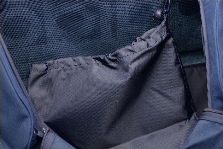 Sacs de sport Adidas Performance Lin Per TB M Bleu vue derrière