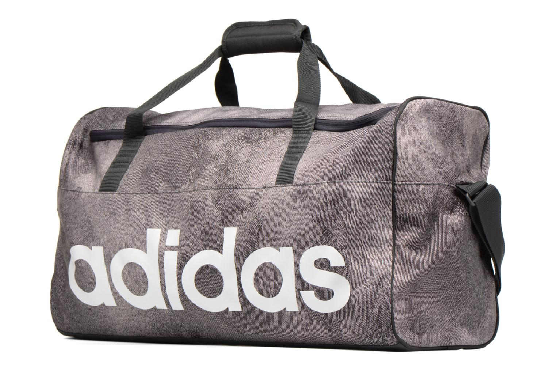 Sporttaschen Adidas Performance Lin Per TB M grau schuhe getragen