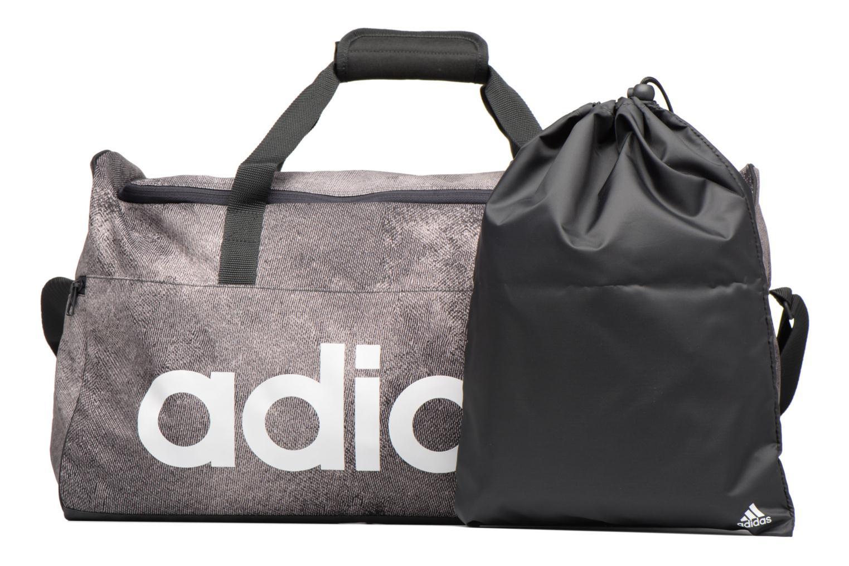 Sporttaschen Adidas Performance Lin Per TB M grau ansicht von links