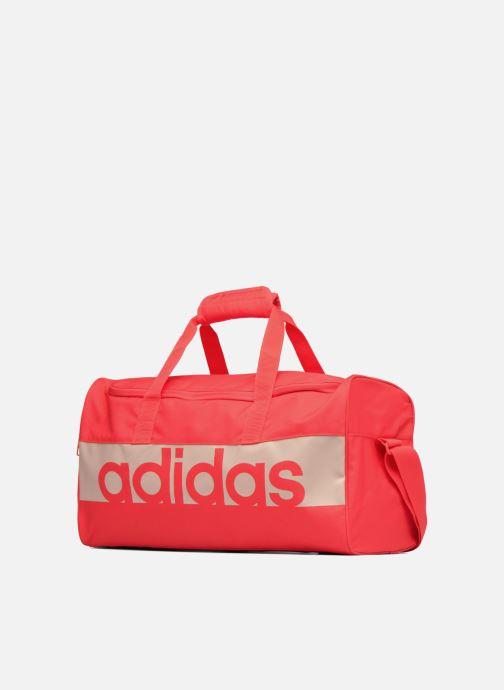 Borsa da palestra Adidas Performance Lin Per TB S Arancione modello indossato