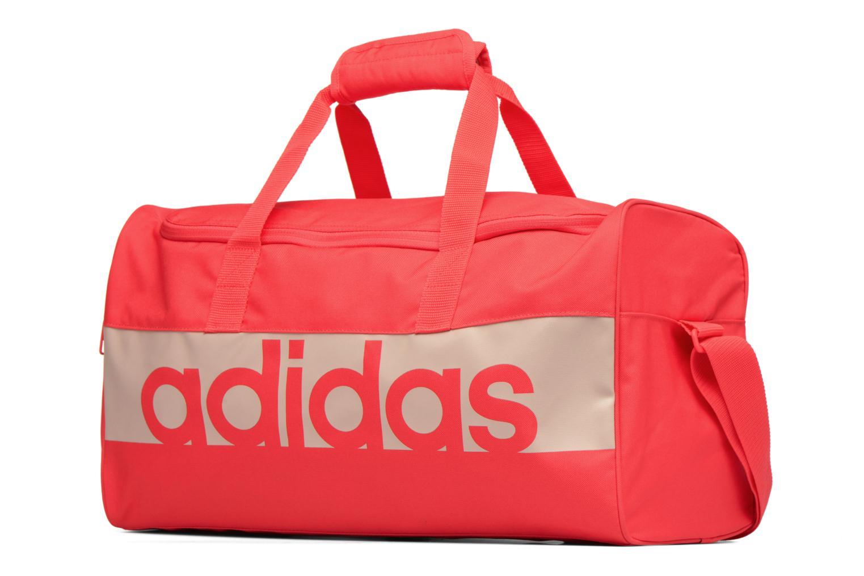 Sporttaschen Adidas Performance Lin Per TB S orange schuhe getragen