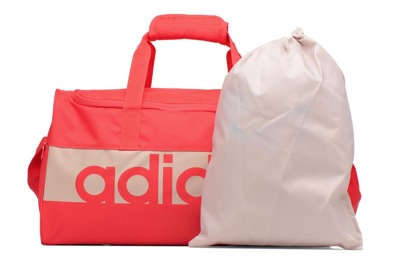 Sporttaschen Adidas Performance Lin Per TB S orange ansicht von links