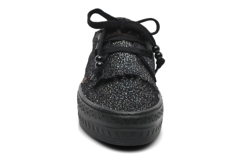 Baskets Dolfie tom Noir vue portées chaussures