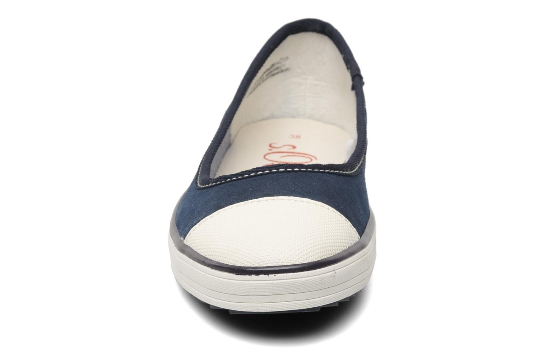 Ballerines S.Oliver Scolla Bleu vue portées chaussures