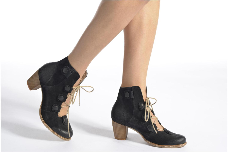 Bottines et boots Dkode Valyn Bleu vue bas / vue portée sac
