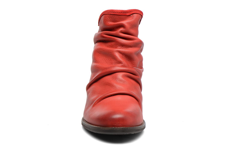 Bottines et boots Dkode Carter Rouge vue portées chaussures