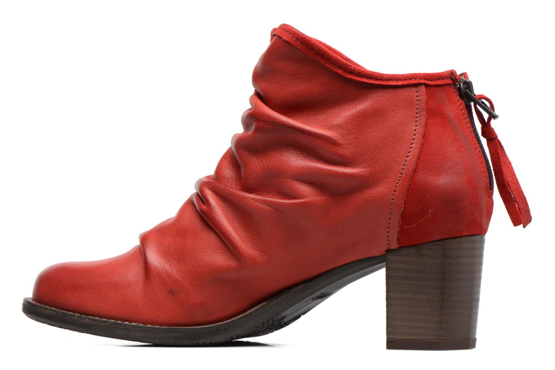 Bottines et boots Dkode Carter Rouge vue face