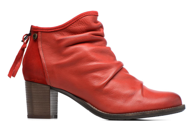 Bottines et boots Dkode Carter Rouge vue derrière