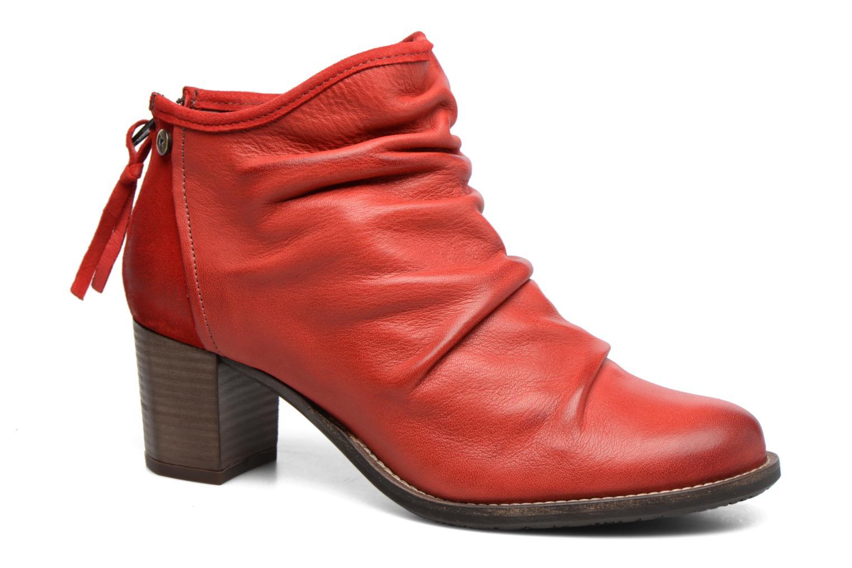 Bottines et boots Dkode Carter Rouge vue détail/paire