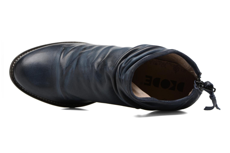 Bottines et boots Dkode Carter Bleu vue gauche