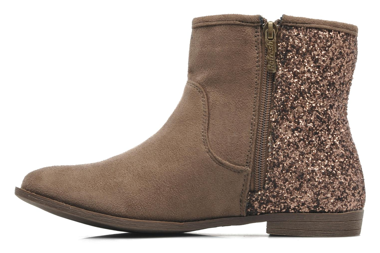 Bottines et boots Refresh Mademama Marron vue face