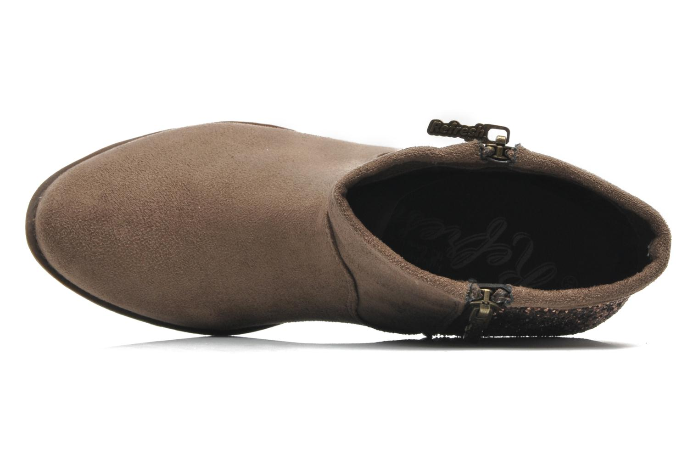 Bottines et boots Refresh Mademama Marron vue gauche
