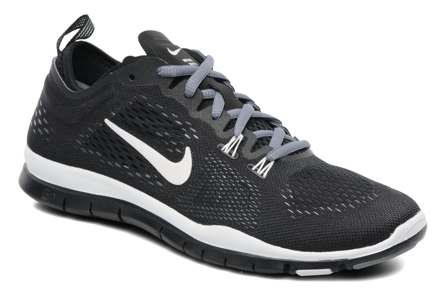 free shipping 2a3ec 2d56c ... sale sport shoes nike wmns free 5.0 tr fit 4 breath black detailed view  pair view
