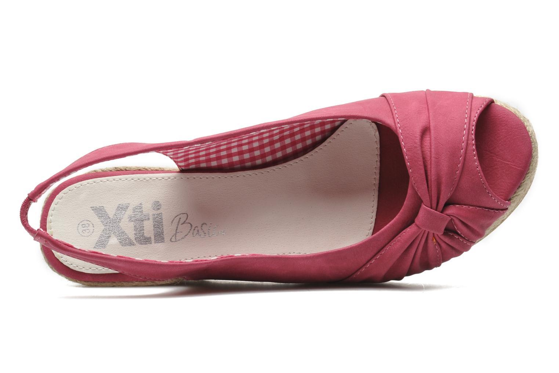Sandales et nu-pieds Xti Sofia Rose vue gauche