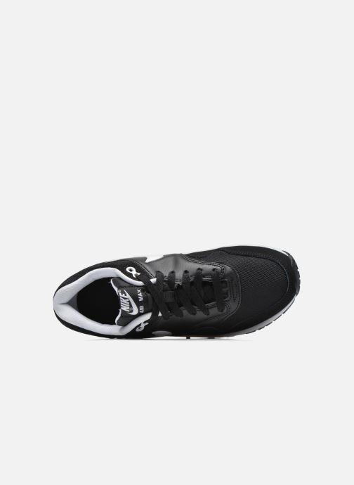 Baskets Nike Nike air max 1 (gs) Noir vue gauche
