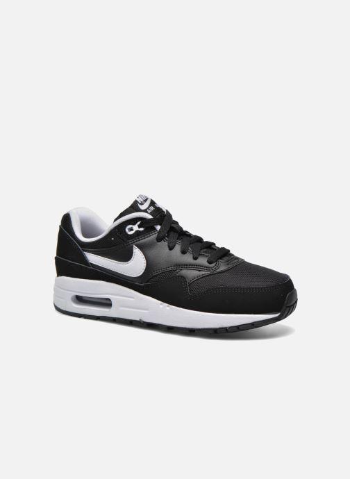 huge selection of 6aa1e 66f8d Baskets Nike Nike air max 1 (gs) Noir vue détail paire