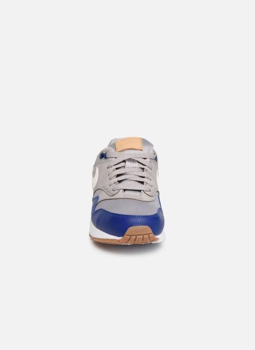 Sneaker Nike Nike air max 1 (gs) grau schuhe getragen