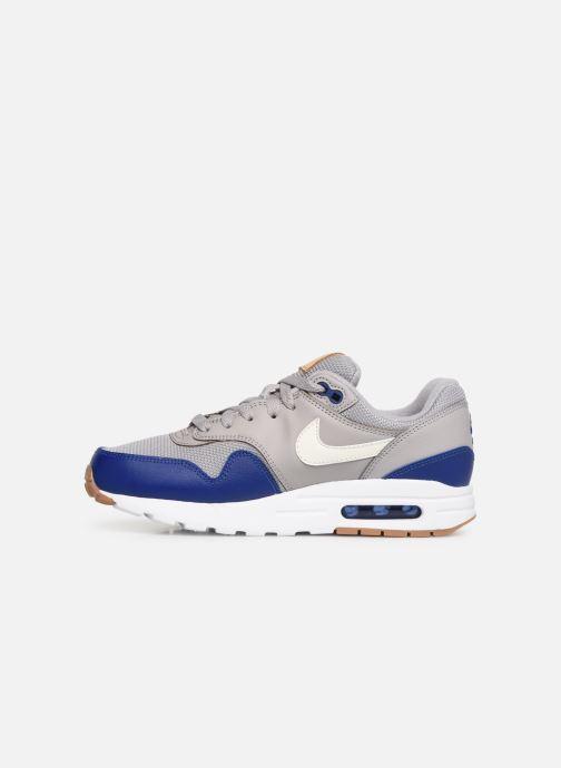 Sneaker Nike Nike air max 1 (gs) grau ansicht von vorne