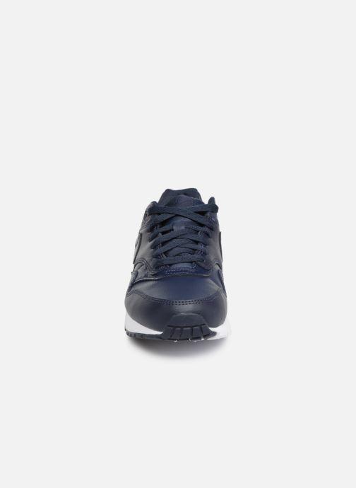 Sneakers Nike Nike air max 1 (gs) Blå bild av skorna på