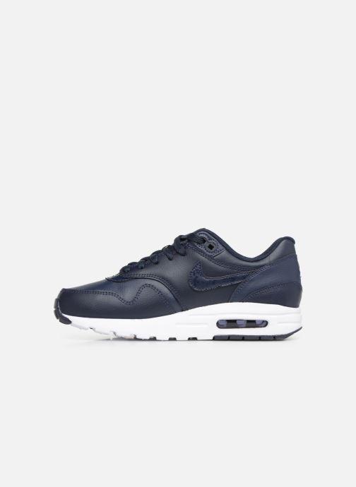 Sneakers Nike Nike air max 1 (gs) Blauw voorkant