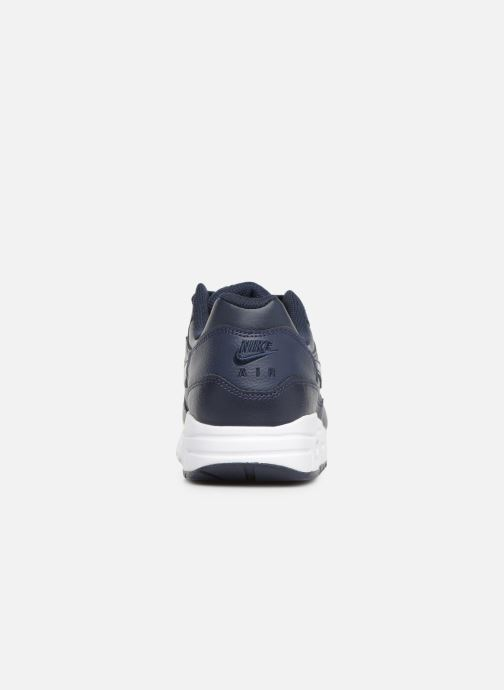 Sneakers Nike Nike air max 1 (gs) Blå Bild från höger sidan