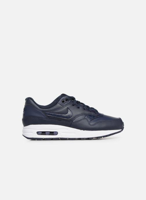 Baskets Nike Nike air max 1 (gs) Bleu vue derrière
