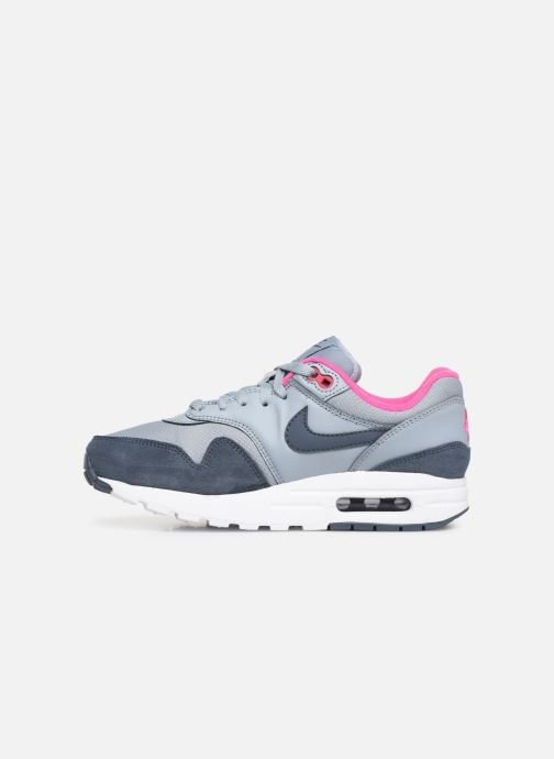 Baskets Nike Nike air max 1 (gs) Bleu vue face
