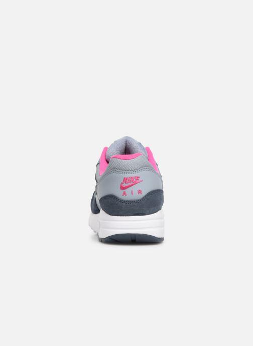 Sneaker Nike Nike air max 1 (gs) blau ansicht von rechts