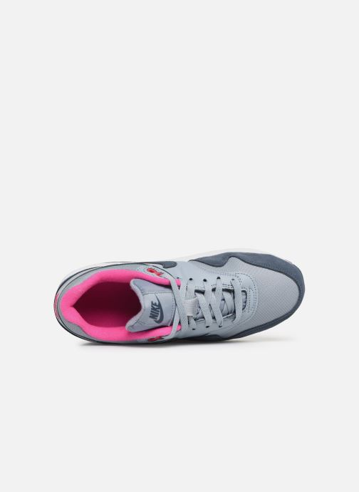 Sneaker Nike Nike air max 1 (gs) blau ansicht von links
