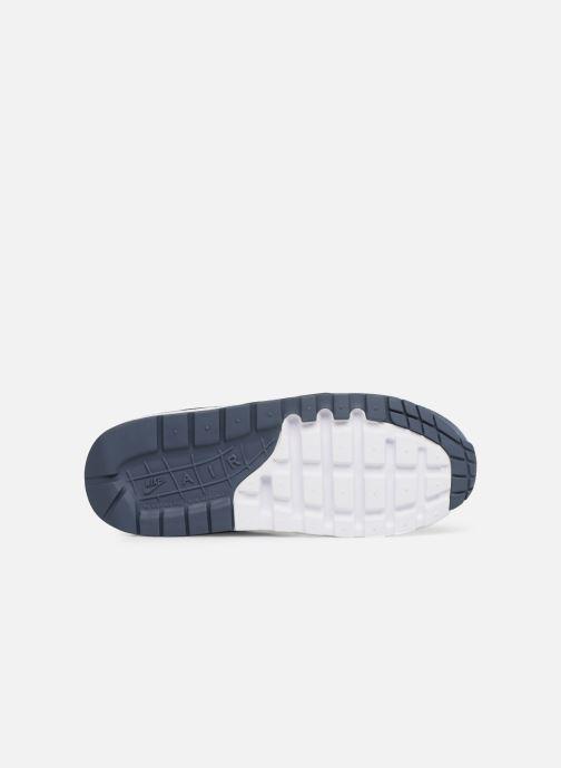 Sneaker Nike Nike air max 1 (gs) blau ansicht von oben