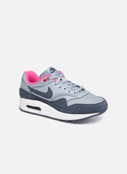 Baskets Nike Nike air max 1 (gs) Bleu vue détail/paire