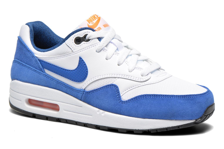 free shipping f3a72 3873f Baskets Nike Nike air max 1 (gs) Bleu vue détail paire